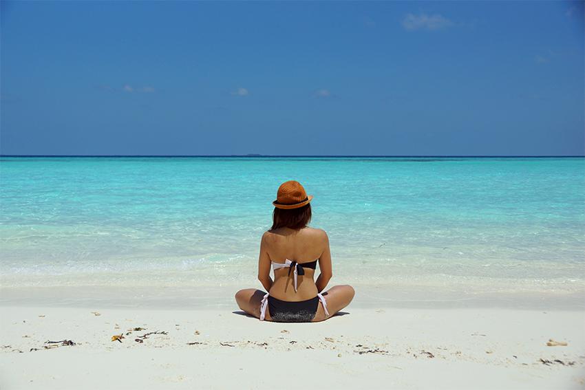 depilación playa verano